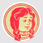 Dorothy, Wizard of Oz Round Stickers