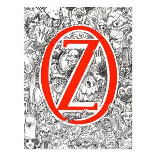 Dorothy y el mago en la onza tarjetas postales