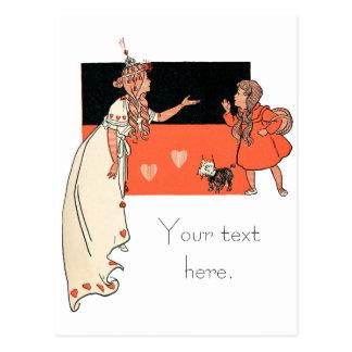 Dorothy y Glinda, mago de Oz Postal