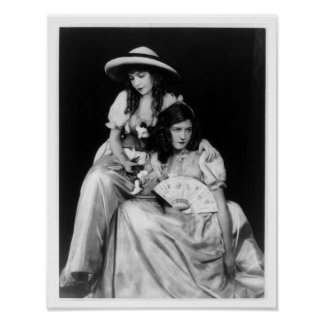 Dorothy y Lillian Gish Posters