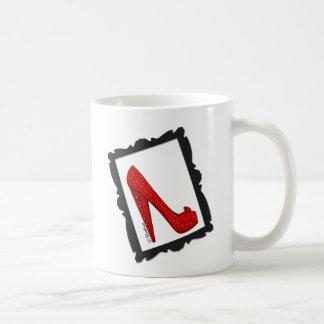 Dorothy's Framed Ruby Red Heels Classic White Coffee Mug