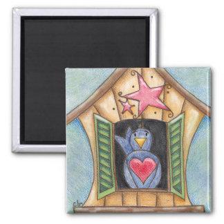 Dorothy's Home magnet