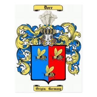Dorr (alemán) postales