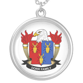 Dorr Family Crest Jewelry