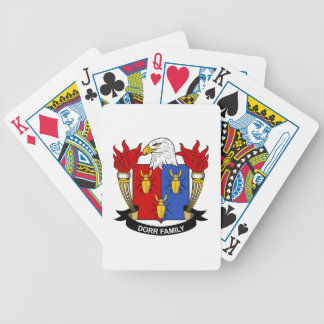 Dorr Family Crest Bicycle Card Deck