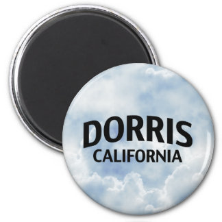 Dorris California Imán Redondo 5 Cm