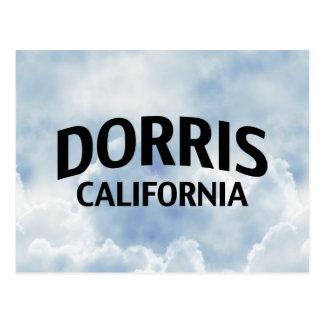 Dorris California Tarjetas Postales