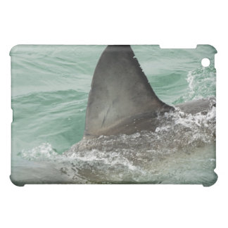 Dorsal aileron of a Great White shark iPad Mini Cover
