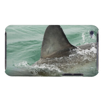 Dorsal aileron of a Great White shark iPod Touch Case-Mate Case
