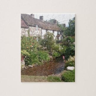 Dorset Cottage, England Jigsaw Puzzles