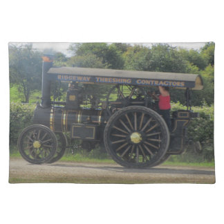 Dorset Steam Fair Burrell General Purpose Engine Cloth Placemat