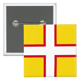 Dorset, United Kingdom flag Button