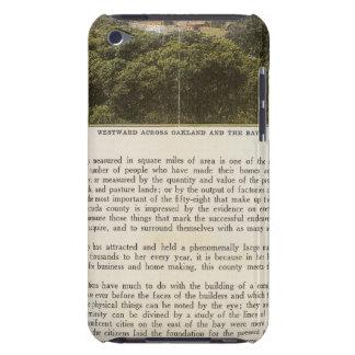 Dorso el condado de Alameda, Oakland y la bahía Case-Mate iPod Touch Coberturas