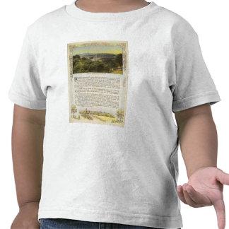 Dorso el condado de Alameda, Oakland y la bahía Camisetas