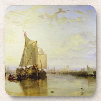 Dort or Dordrecht: The Dort Packet-Boat from Rotte Beverage Coaster