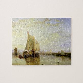 Dort or Dordrecht: The Dort Packet-Boat from Rotte Jigsaw Puzzle