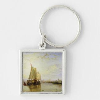 Dort or Dordrecht: The Dort Packet-Boat from Rotte Keychain