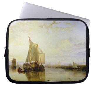 Dort or Dordrecht: The Dort Packet-Boat from Rotte Laptop Sleeve