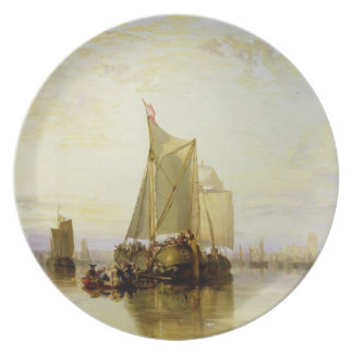 Dort or Dordrecht: The Dort Packet-Boat from Rotte Melamine Plate