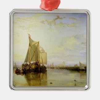 Dort or Dordrecht: The Dort Packet-Boat from Rotte Metal Ornament