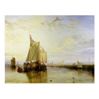 Dort or Dordrecht: The Dort Packet-Boat from Rotte Postcard