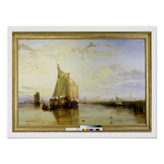Dort or Dordrecht: The Dort Packet-Boat from Rotte Poster