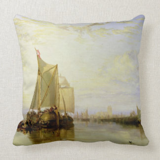 Dort or Dordrecht: The Dort Packet-Boat from Rotte Throw Pillow