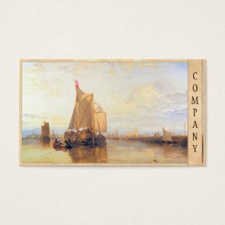 Dort or Dordrecht  The Dort Packet Boat Rotterdam Business Card