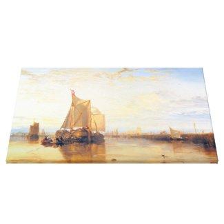 Dort or Dordrecht The Dort Packet Boat Rotterdam Stretched Canvas Prints