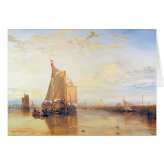 Dort or Dordrecht  The Dort Packet Boat Rotterdam Card