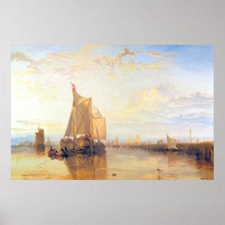 Dort or Dordrecht The Dort Packet Boat Rotterdam Poster