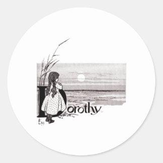 Dorthy Classic Round Sticker