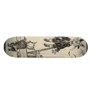 Dorthy, Scarecrow And Toto Skateboard Deck