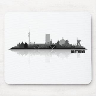Dortmund City horizonte Mouse Pad