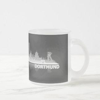 Dortmund City horizonte taza
