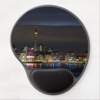 Dortmund, Germany skyline night Gel Mouse Pad
