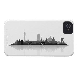 Dortmund town center of skyline Blackberry coverin iPhone 4 Cover