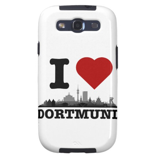 Dortmund town center OF skyline - Samsung Galaxy S Galaxy S3 Case