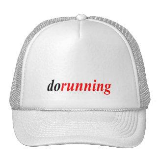 dorunning trucker hat