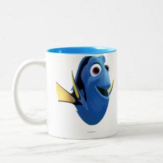 Dory 1 taza de café de dos colores