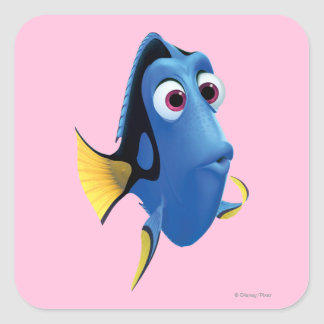 Dory 4 square sticker