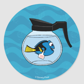 Dory | A Fish Out of Water Classic Round Sticker