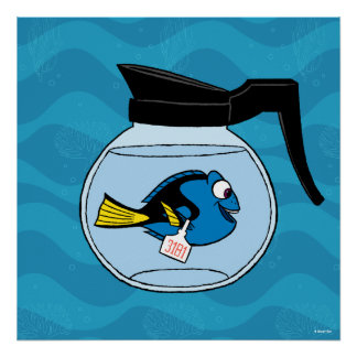 Dory   A Fish Out of Water Poster