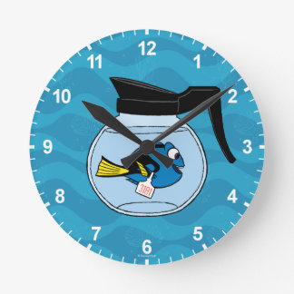 Dory | A Fish Out of Water Round Clock