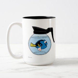 Dory | A Fish Out of Water Two-Tone Coffee Mug