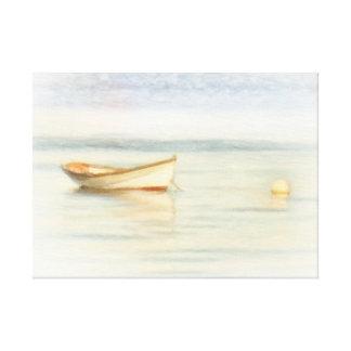 Dory Boat by Shawna Mac Canvas Print