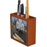 Dory builder,Lunenburg, Nova Scotia, Canada Pencil Holder