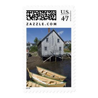 Dory builder,Lunenburg, Nova Scotia, Canada Postage