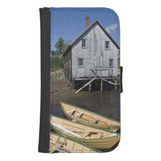 Dory builder,Lunenburg, Nova Scotia, Canada Wallet Phone Case For Samsung Galaxy S4