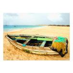 Dory de la pesca en la playa